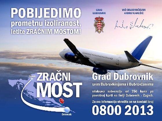 Od Danas Mozete Podnijeti Zahtjev Za Subvenciju Zrakoplovne Karte
