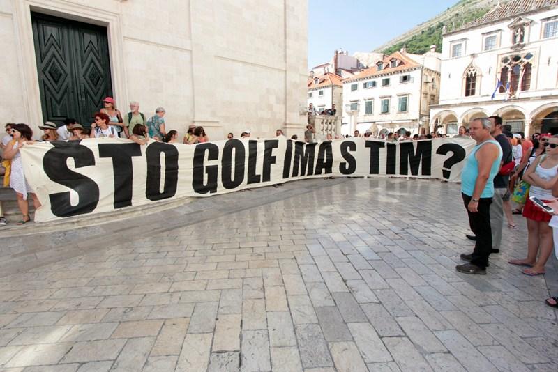 SUD PRESUDIO: golf na Srđu nije prihvatljiv za okoliš
